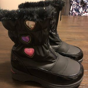 Totes Snow Boots - Toddler Girls Size 10